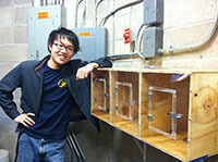 Collecting DNA by spider web - ND alumnus publishes undergrad research